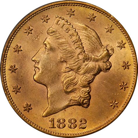 Value of 1882-CC $20 Liberty Double Eagle   Sell Rare Coins