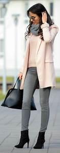 Dark Grey Skinny Jeans Outfit