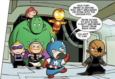 Little X-men, Little Avengers