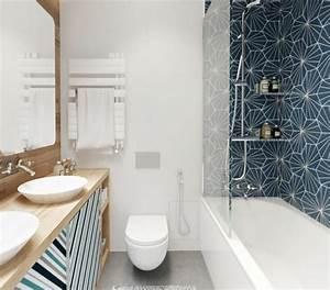 winsome faience salle de bain originale design chemin e ou With jolie salle de bain italienne