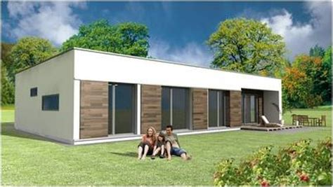 maison moderne toit plat toit terrasse cubiques cubes