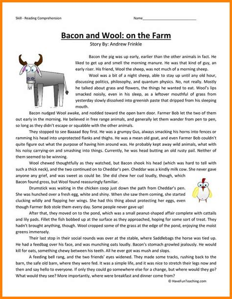 6 reading passages for 3rd grade cath fordgroup