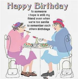 Friendship Quotes Funny Happy Birthday. QuotesGram
