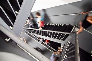 Last 6 Flights Of Stairs At The Empire State Building  New