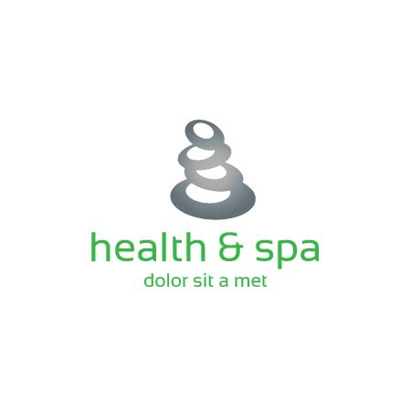 zen spa logo template buy vector logo