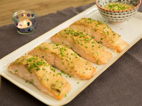 baked salmon  honey mustard sauce recipe valerie