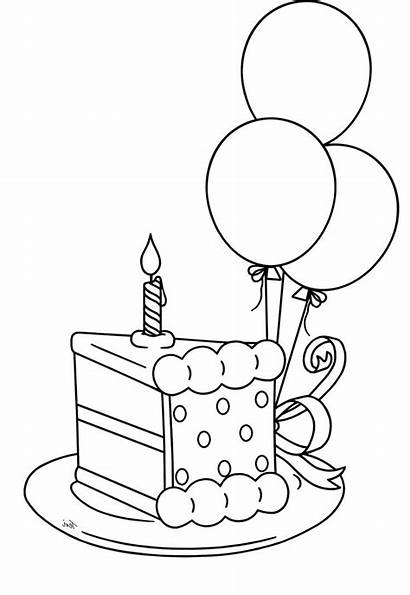 Coloring Happy Pages 4th Birthday July Printable