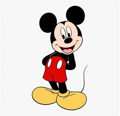 Mickey Mouse Clip Clipart Behind Hands Standing