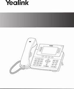 Yealink Ylt27g Ip Phone User Manual Yealink Sip T27g Quick
