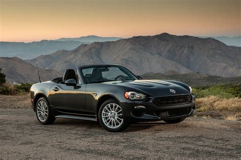 Fiat 124 Spider by 2017 Fiat 124 Spider Review And Rating Motor Trend