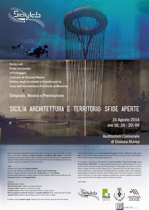 Universit Architettura Siracusa by Antonino Saggio Sicily Lab Simposio 2014 With Comune Di