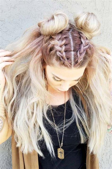 easy hairstyles  spring break hair  beauty