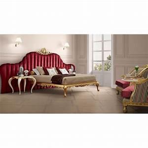 Tete De Lit Rouge : lit et t te de lit de luxe rouge ou violet capitonn e 2 personnes milan ~ Teatrodelosmanantiales.com Idées de Décoration