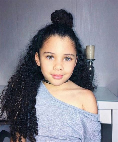 hairstyles for mixed girls hair and hairstyles