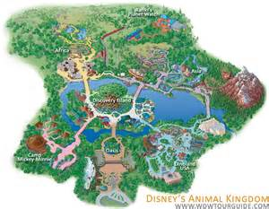 Disney World Animal Kingdom Map