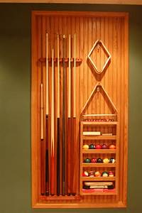 1000+ images about Wood Projects - Pool Stick Rack on