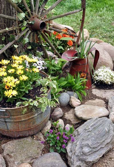 country garden decoration ideas  plants