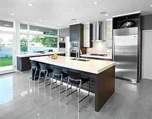 Salon Cuisine Ouverte : cuisine ouverte salon 30m2 frais amenagement bel sur 25m2 ~ Melissatoandfro.com Idées de Décoration