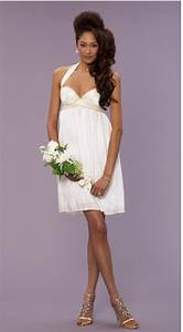 Wedding decoration casual short wedding dress for White casual wedding dress