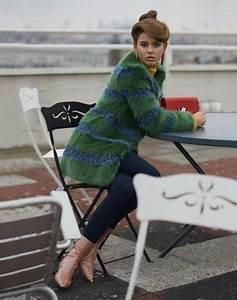 Fausse Fourrure Verte : le manteau en fausse fourrure une tendance depuis toujours ~ Teatrodelosmanantiales.com Idées de Décoration