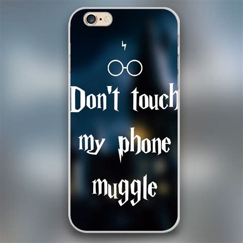 harry potter dont touch  phone muggle design case