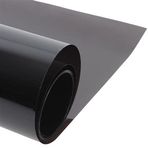 cmxcm dark black car window tint film glass vlt