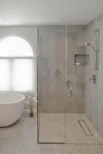 Salle De Bain Baignoire D Angle Et Italienne by Douche 224 L Italienne Encastrable 50 Salles De Bains Modernes