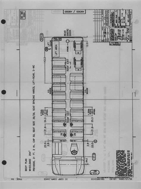 School Bu Dimension Diagram by Cdl Engine Diagram Downloaddescargar