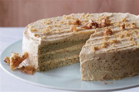 Sorghum Layer Cake With Walnut Praline Buttercream Recipe