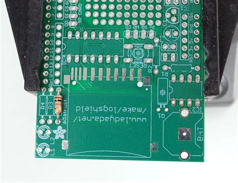 Logger Shield Datalogging For Arduino Steps With