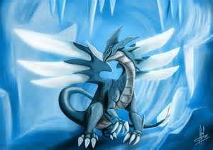 Anime Ice Dragon Drawings