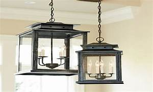 Large outdoor hanging lanterns pendant lights over island lantern light ballard design