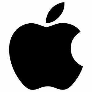 Ymele:Apple logo black.svg - Wikipǣdia, sēo frēo wīsdōmbōc