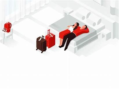 Isometric Illustration Google Hotels Types Dribbble Illustrations