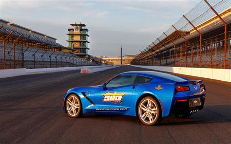 Indy 500 Corvette by 2014 Chevrolet Corvette Stingray Indy 500 Pace Car Images
