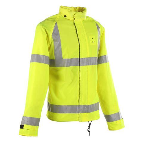 motorcycle rain gear neese ansi 3 police motorcycle rain jacket