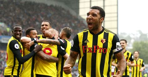 Andre Gray, Troy Deeney And