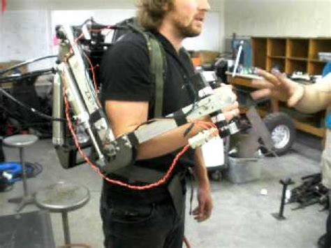 ergonomic control  powered mechanical exoskeleton