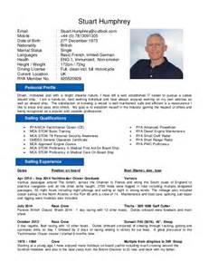 yacht stewardess resume stuart humphrey yachting cv oct 1st 2014e