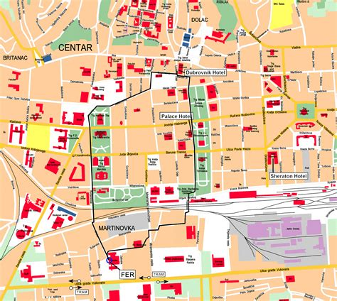 map  zagreb zagreb map