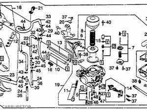 Honda Cb450sc Nighthawk 1982  C  Usa Parts List