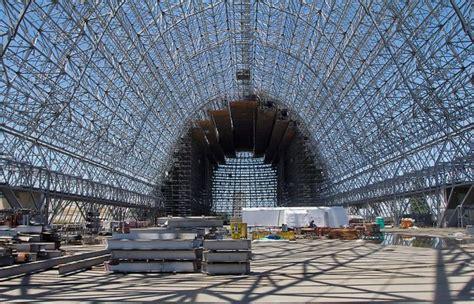 moffett field hangar  stripdown   year