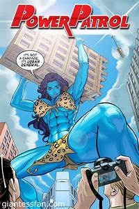 Power Patrol - Jolly Blue Giantess by giantess-fan-comics ...