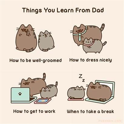 Pusheen Comics Cat Dad Stuff Bake Cookbook