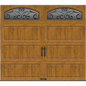clopay gallery collection 8 ft x 7 ft 184 r value With 18 x 7 garage door prices
