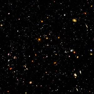 Hubble Deep Field HD - Pics about space