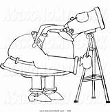 Telescope Hubble Space Coloring Clipart Astronomy Drawing Printable Pages Getcolorings Getdrawings Webstockreview sketch template