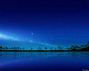 Tropical Paradise (Night Version) by stargateatl on DeviantArt