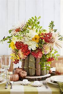38, Fall, Table, Centerpieces