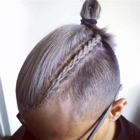 man braid man bun braids   newest trend  men